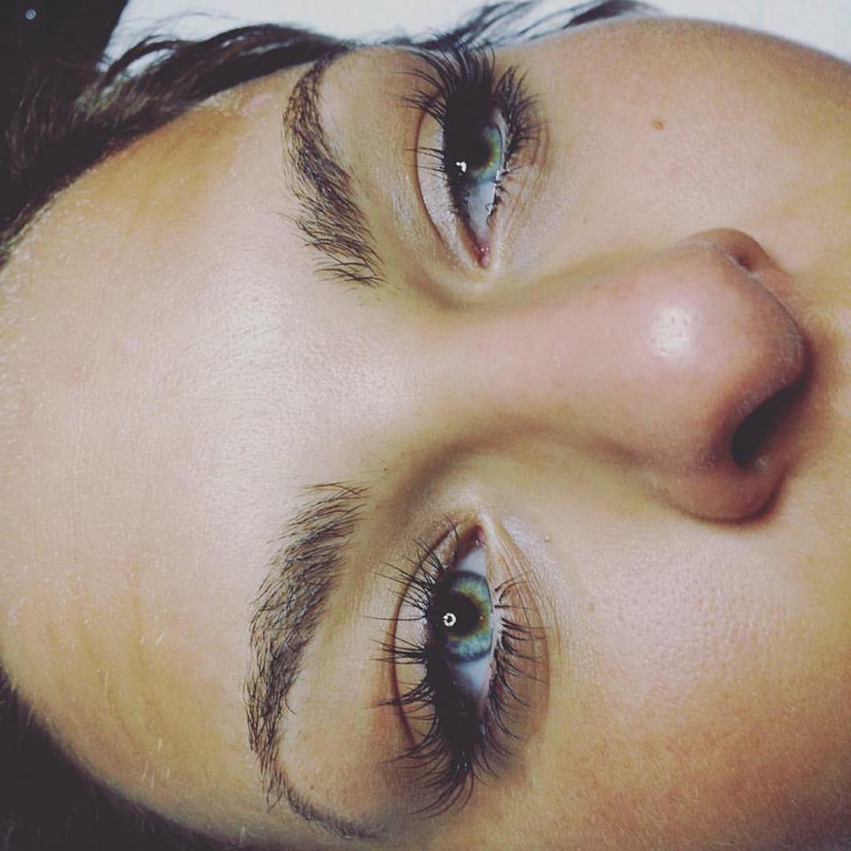 Top And Lower Lash Extensions Keyla Sanchez Aesthetics And Eyelash