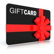 eyelash extension gift card